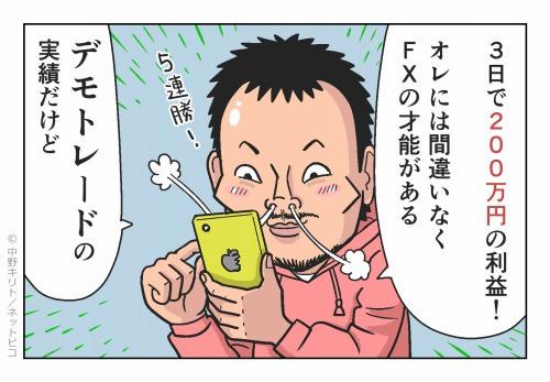 3日で200万円の利益!