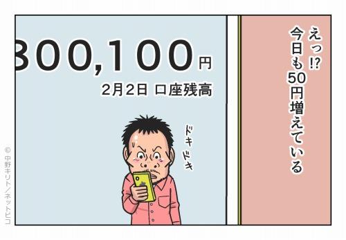 えっ!?今日も50円増えている