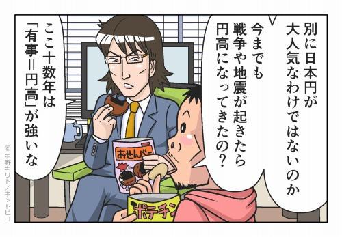 別に日本円が大人気なわけではないのか