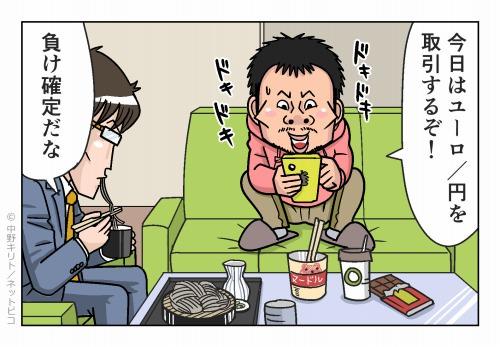 今日はユーロ/円で取引するぞ!