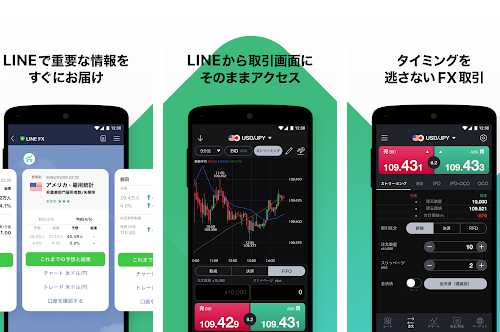 LINE FX Androidアプリ