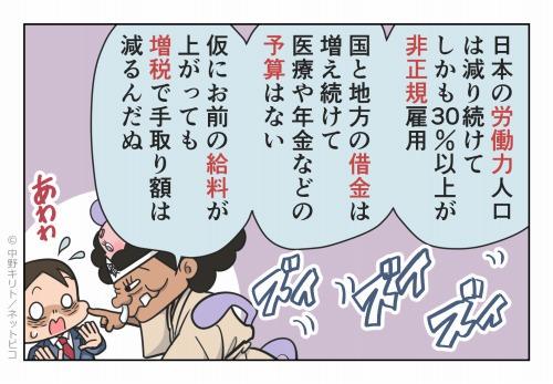 日本の労働力人口は減り続けて しかも30%以上が非正規雇用