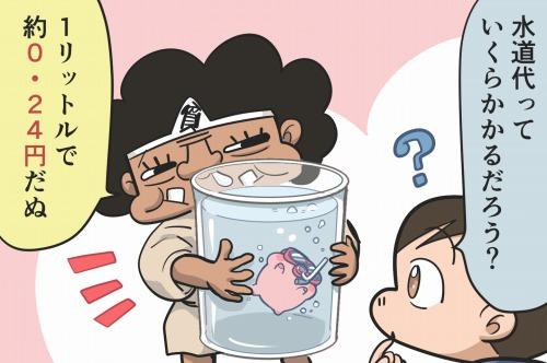 水道料金は「1L=0.24円」程度!水道代が高い理由と節水するコツとは?