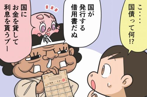 日本の国民が日本政府にお金を貸す個人向け国債