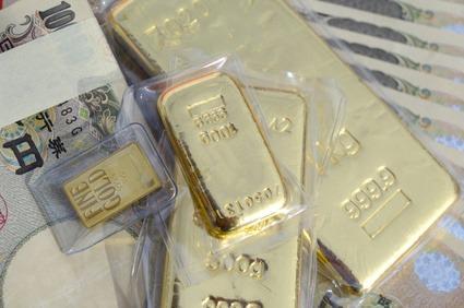 金鉱株・貴金属関連株 - 金価格と相関している銘柄に投資