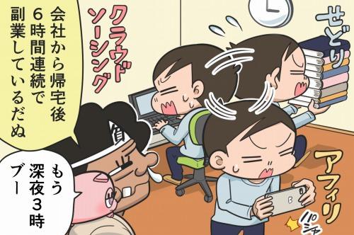 【漫画】第47話「時間管理のコツ!副業の時間を作る7つの方法」