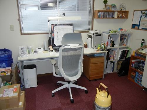 自宅の作業部屋