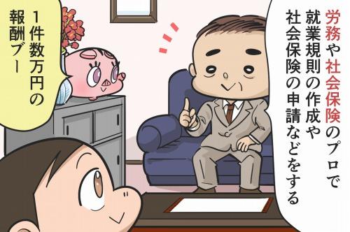 社会保険労務士の副業 - 日給1万~2万円と高報酬!ネックは社労士会の登録費や年会費