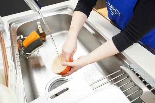 片付け、食器洗いまでが仕事