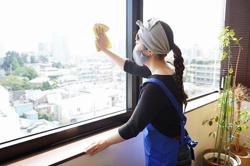 窓の内側掃除はOK