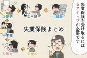 【漫画】失業保険まとめ!離職時の手続きから失業保険の受給まで