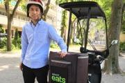 Uber Eats(ウーバーイーツ)で配達する副業に密着取材!働くも休むも完全自由で月25万円