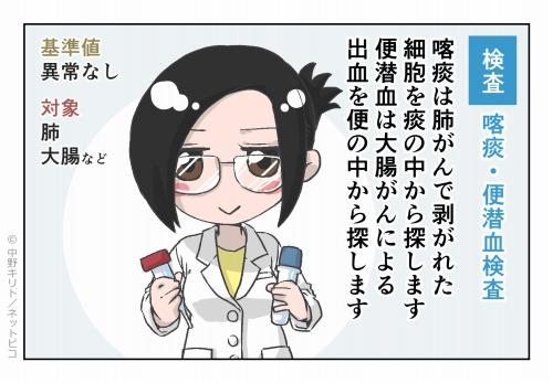 検査 喀痰・便潜血検査