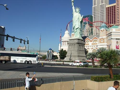 自由の女神(ニューヨーク・ニューヨークホテル)