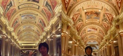 ザ・ベネチアン・リゾートホテル&カジノを巡る