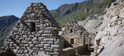 マチュピチュ遺跡の市街地