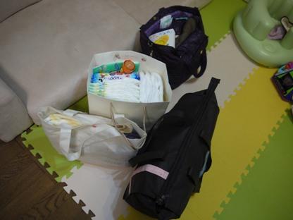 赤ちゃんとの旅行に必要な持ち物40種