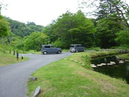 星のや軽井沢の送迎車