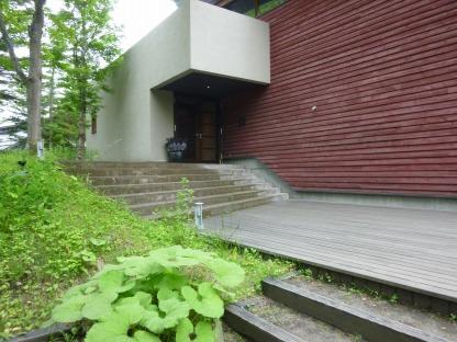 集いの館の入り口