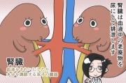 【漫画】腎臓の健康診断!尿蛋白・尿潜血・尿pHで腎機能の低下がわかる